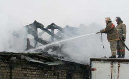В пожаре под Смоленском пострадал мужчина