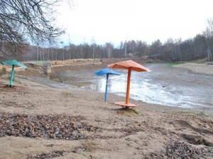 Реадовское озеро ожидает второй сезон обезвоживания