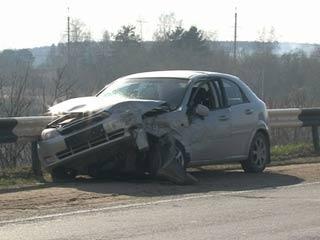Невнимательность водителя стала причиной серьезного ДТП под Смоленском