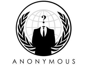 Хакеры из Anonymous заблокировали сайт британского МВД