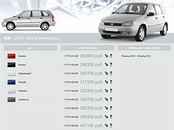 «АвтоВАЗ» начал принимать заказы на Lada через интернет