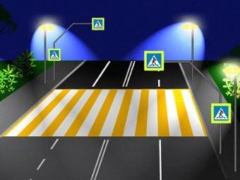 ГИБДД предложила изменить внешний вид пешеходных «зебр»
