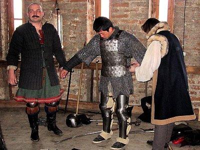 Японцы приехали снимать сюжет о средневековом Смоленске