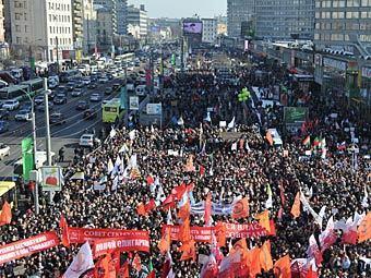 Оппозиция уведомила мэрию о «Марше миллиона»