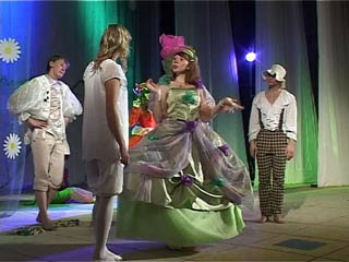 В Смоленске студия «Театральный квадрат» показала премьеру спектакля