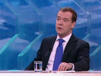 Медведев поставил себе в заслугу развитие гражданских свобод