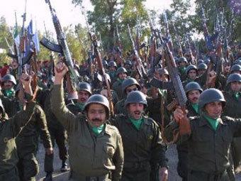 Иранских боевиков обучали в Неваде