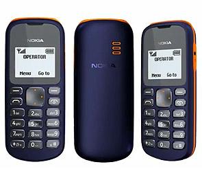Nokia представила самый дешевый мобильник
