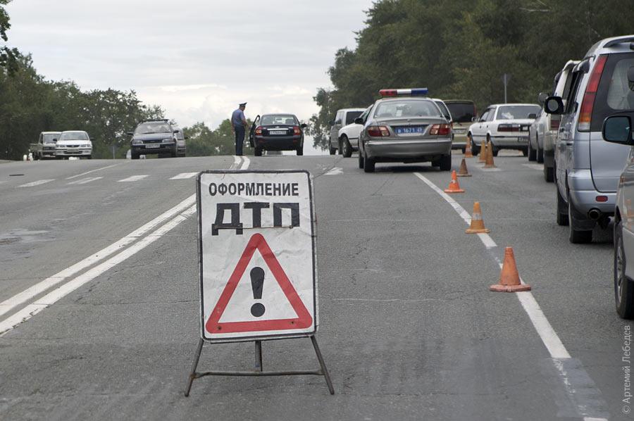 ДТП в Смоленске: столкнулись четыре автомобиля