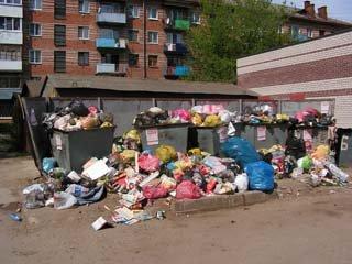 На мусорных баррикадах