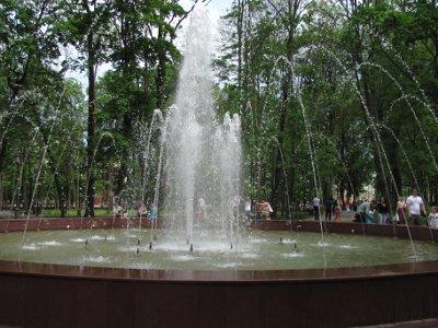 Недавно построенный на Блонье фонтан будут ремонтировать