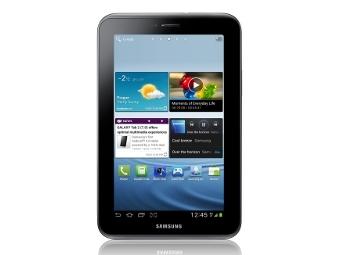 Названы цены на планшеты Galaxy Tab 2