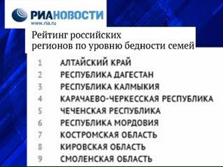 Смоленские семьи оказались одними из самых бедных в России