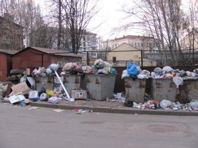 Глава города и мэрия разошлись в оценках ситуации с вывозом мусора