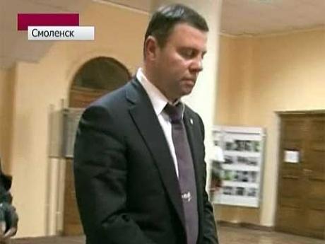 Экс-главе администрации Смоленска Константину Лазареву продлили арест