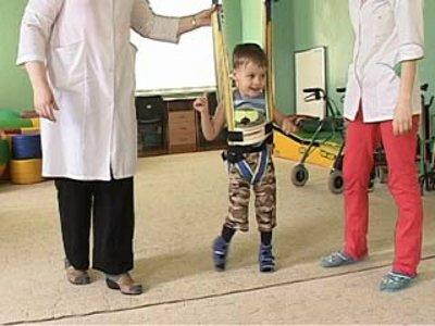 В «Вишенках» появился уникальный тренажер для детей-инвалидов