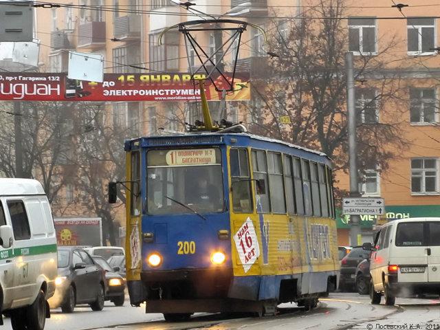 Смоленские трамваи пока не вернутся на круги своя