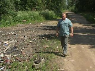 Деньги жителей смоленских деревень, собранные на ремонт дороги, превратились в мусор