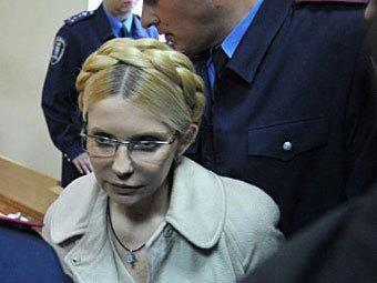 На Тимошенко завели дело о нападении на тюремщика