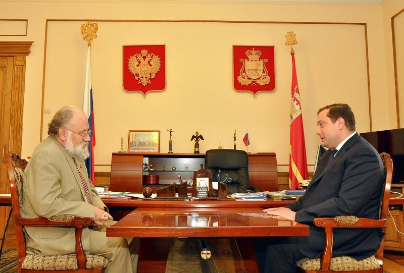 Рабочая встреча Губернатора с председателем ЦИК