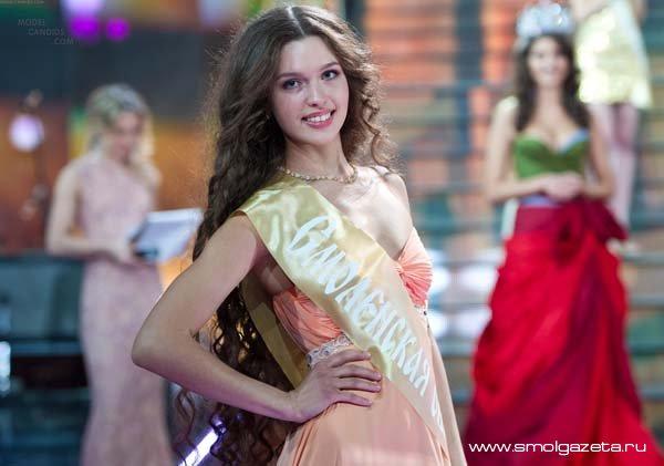 Наша Лиза Голованова может стать главной красавицей планеты