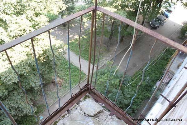 Люди запретили себе выходить на балконы