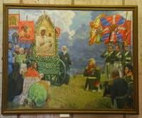 Смоленские художники талантливо отразили события войны 1812 года на выставке «Русь Православная»