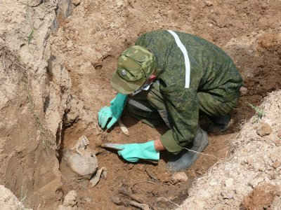 В первые дни международной Вахты Памяти установили имена всех найденных бойцов