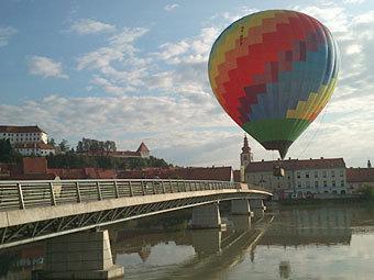 Несколько человек погибли при падении воздушного шара в Любляне