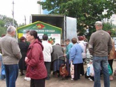 На второй «пробной» сельхозярмарке продавцы подняли цены