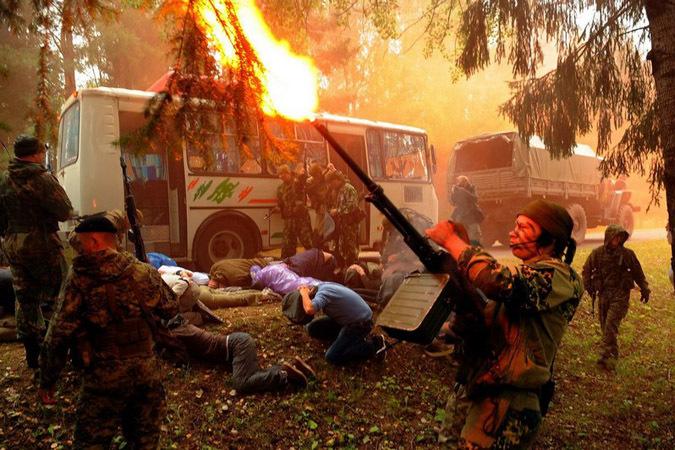 Смоленские журналисты проверили себя в экстремальных условиях
