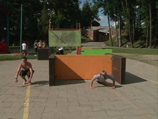 Трейсеры из Санкт-Петербурга провели в Смоленске мастер классы и семинары