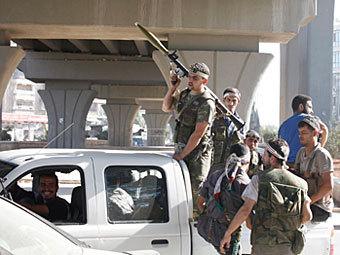 Сирийские повстанцы взорвали штаб правительственных сил в Дамаске