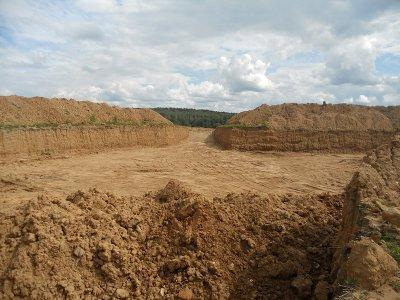 В Вяземском районе незаконно добывали полезные ископаемые