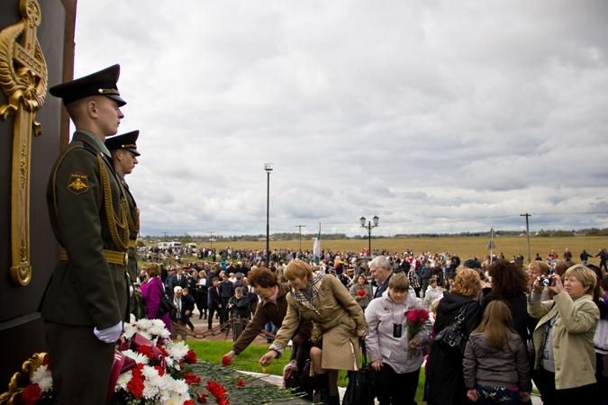 В Смоленской области восстановлен памятник Героям Отечественной войны 1812 года