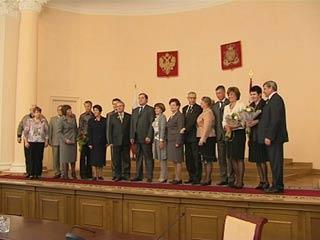Смолянам вручили государственные награды