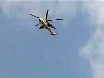 В пригороде Дамаска разбился правительственный вертолет
