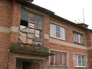 В Смоленском «Раю» жилые дома находятся в аварийном состоянии