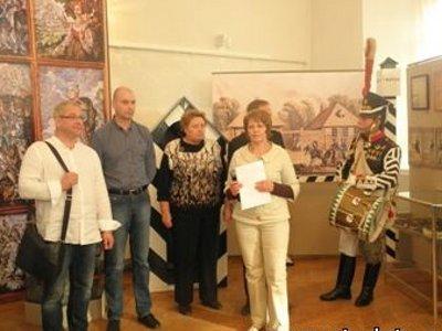Потомки генерала Неверовского и партизана Четвертакова приехали в Гагарин