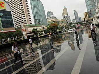 Бангкоку грозит наводнение после сильнейших за 50 лет ливней