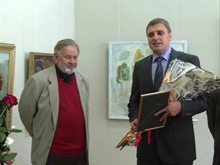 В Смоленском Доме художника открылась выставка Владимира Ельчанинова
