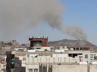 В столице Йемена взорвались склады боеприпасов