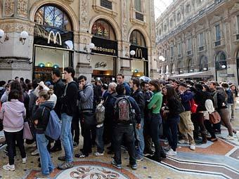 McDonald's выселили из центра Милана