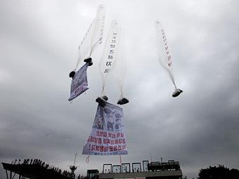 КНДР пригрозила Южной Корее обстрелом за сброс листовок