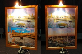 В Смоленске открылась выставка голографических картин