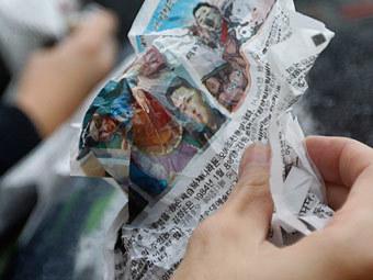 Южная Корея запретила сбрасывать листовки на КНДР