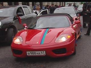Автомобиль со смоленскими номерами печально прославился в Москве
