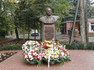 В смоленском поселке Пригорское открыт памятник Николаю Шкурлову