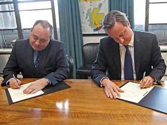 Британский премьер даст шотландцам шанс на независимость