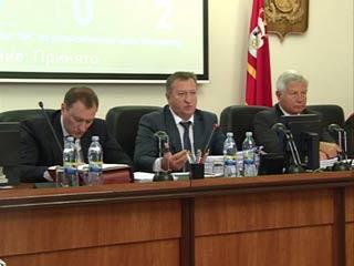 Депутаты облдумы приняли бюджетные поправки, предложенные губернатором